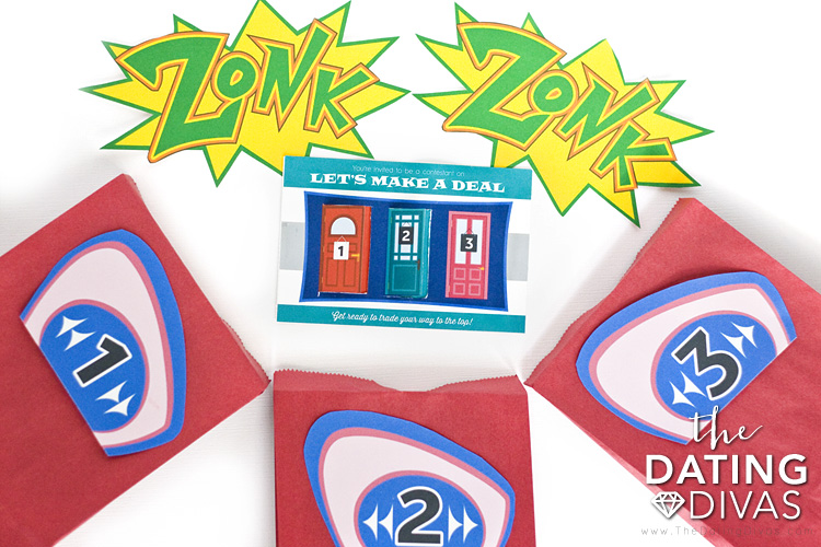 Zonk Ideas for Let's Make a Deal Game