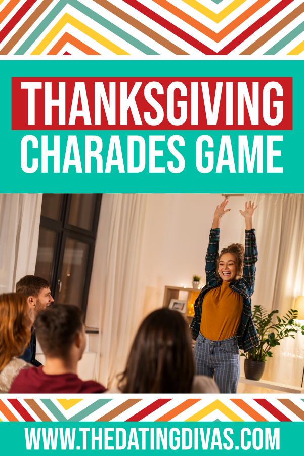 Can't wait to do this Thanksgiving Charades game with the fam this year!! #datingdivas #thanskgivingcharades #thanksgivingcharadeideas