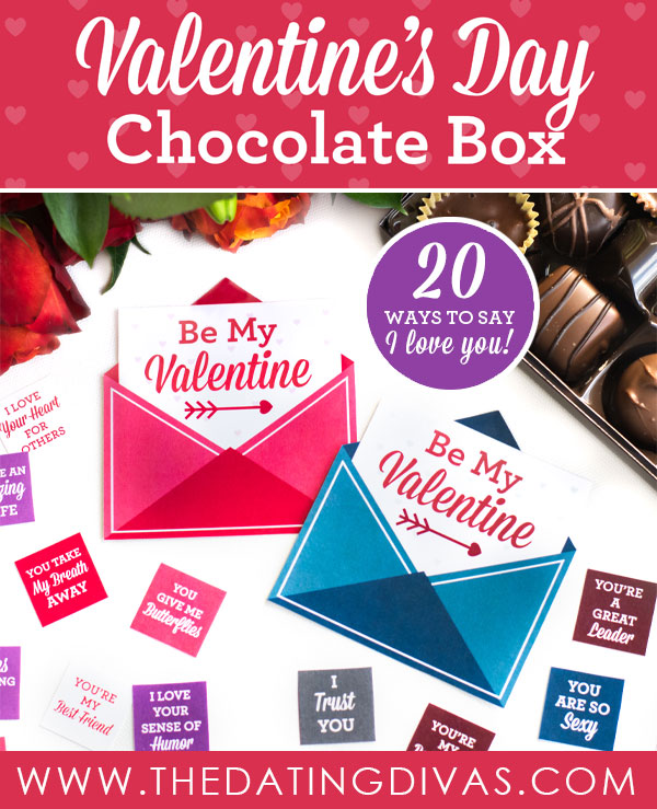 Valentines Chocolate Box Ideas The Dating Divas