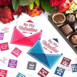 Valentine's Day chocolate gift ideas.