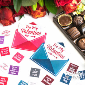 Valentine's Day chocolate gift ideas.