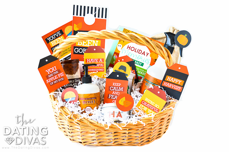 A basket that spreads Thanksgiving cheer