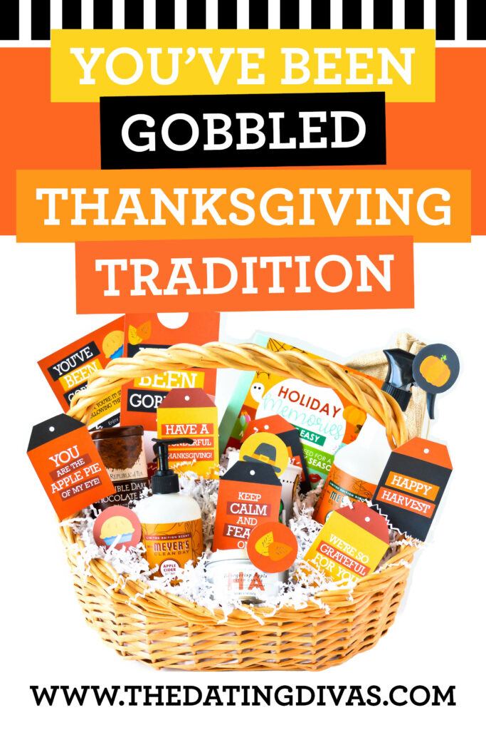 This You've Been Gobbled printable set makes the perfect Thanksgiving tradition for your family! #Thanksgiving #Tradition #You'veBeenGobbled