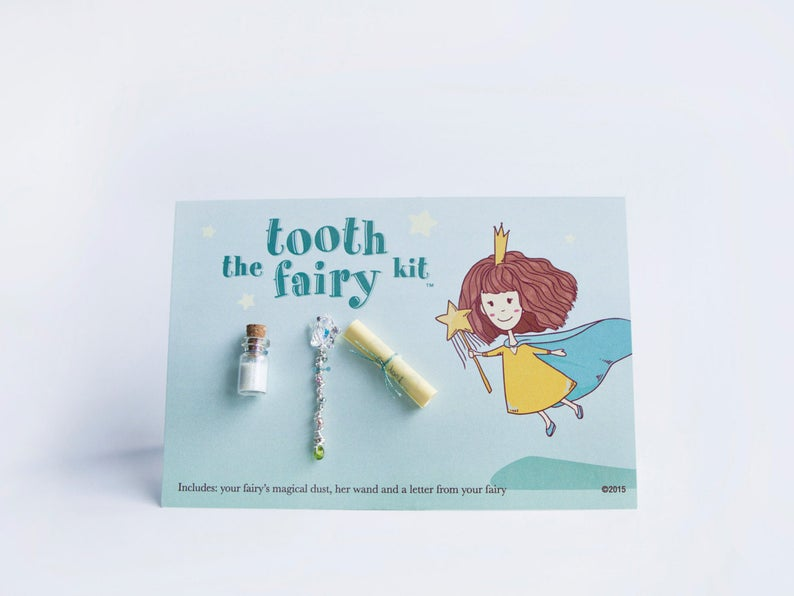 Last minute tooth fairy ideas.