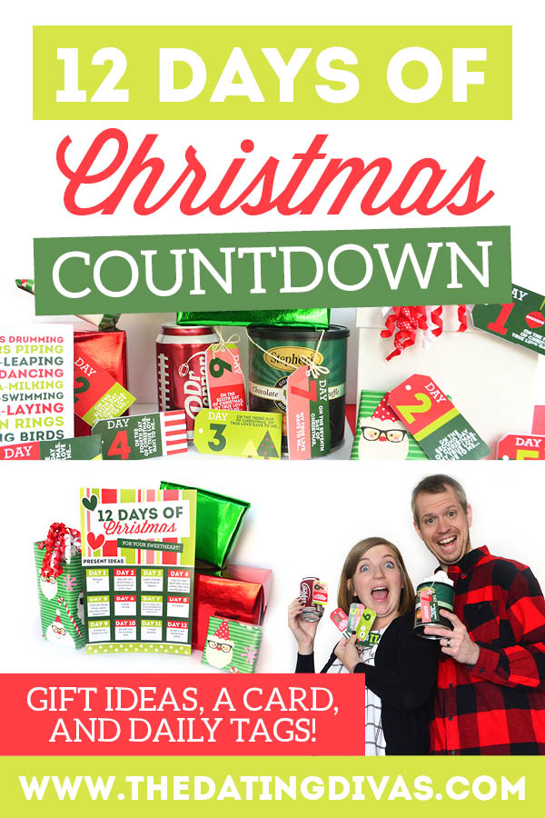 Doing the 12 Days Of Christmas for your spouse is so fun! I can't wait to use these 12 days of Christmas gift ideas for him! #12DaysofChristmas #ChristmasGiftsforHim