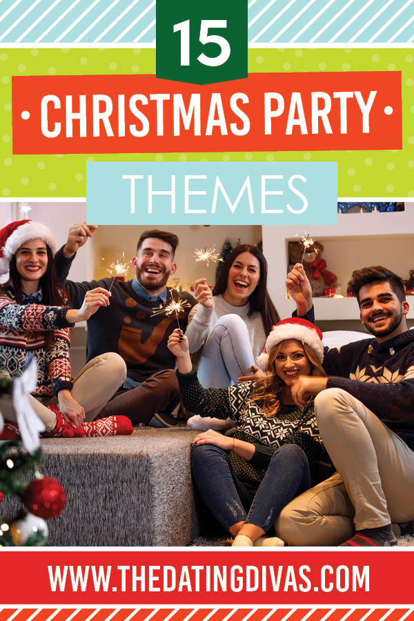Tons of Incredible Christmas party themes and other Christmas party ideas to inspire your holiday party planning! #christmasparty #christmaspartythemes #christmaspartyideas
