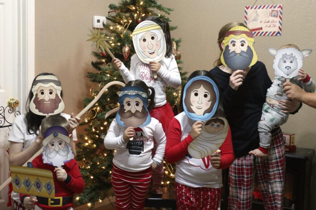 Fun And Free Nativity Printable Masks The Dating Divas