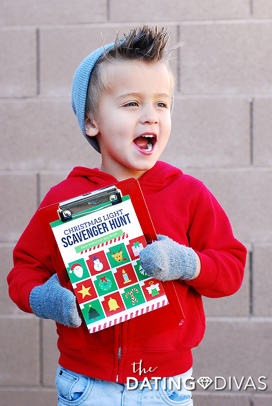 Holiday Scavenger Hunt For Kids