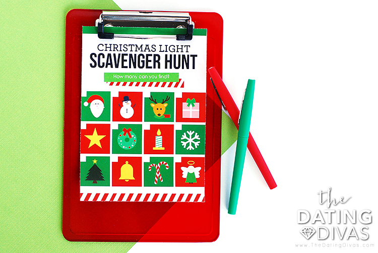 Christmas Decorations Scavenger Hunt For The Kids