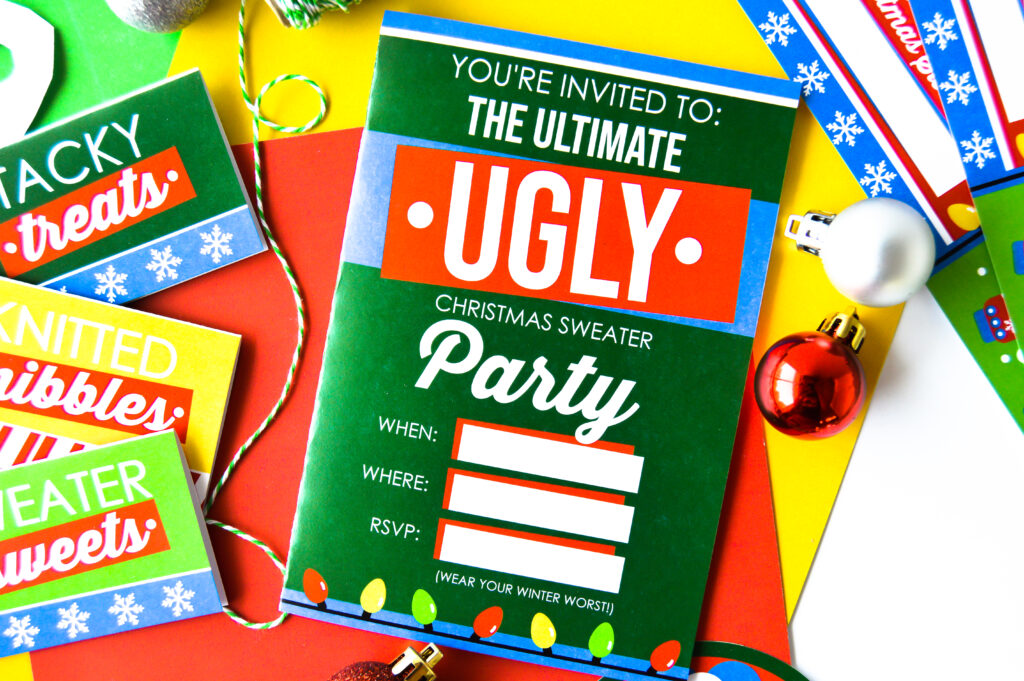 Funny Christmas Party Ideas with Friends and Family
