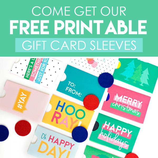 Printable Gift Card Sleeves From The Dating Divas