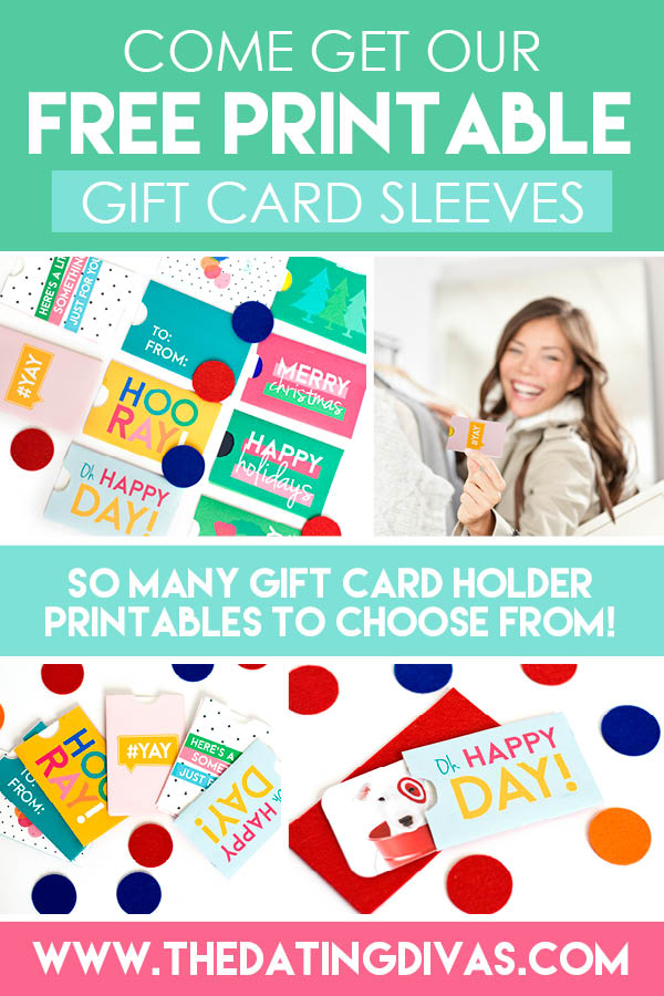 I love how cute these gift card sleeves are! They make a gift card seem so much more thoughtful! #giftcardsleeve #giftcardholdertemplate