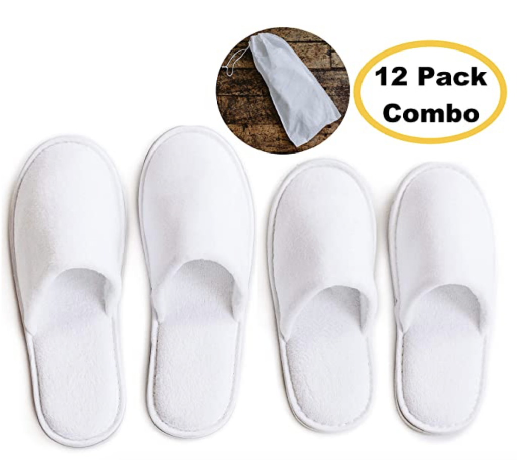 At-Home Spa Slippers | The Dating Divas