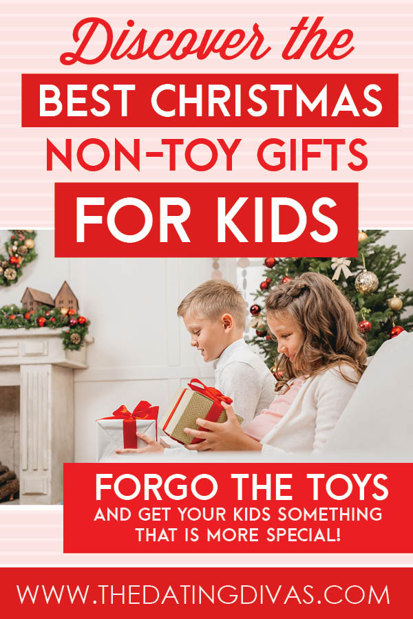 Best Christmas gifts for kids including tons of non toy gifts for kids! #ChristmasGiftsForKids #nontoygiftsforkids