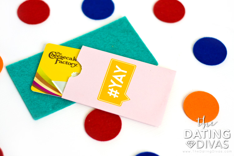 How to make a gift card envelope.