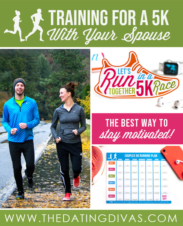 I've been looking into training for a 5k. I can't wait to try this running plan with my hubby! #trainfora5k #runningdate