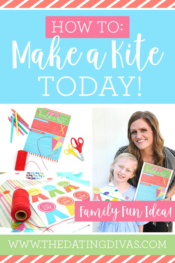 Can't wait to do this fun DIY kite craft with my kids! Pinning! #familyfun #DIY #kidscrafts