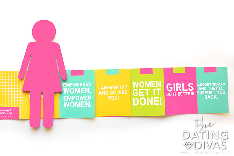 Celebrate womanhood with International Women's Day cards.
