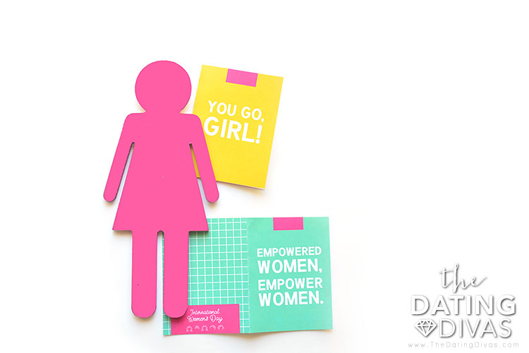 Celebrate International Women's Day with these printable notes.