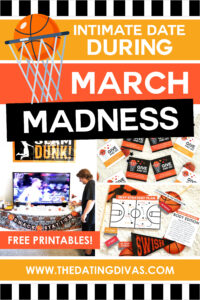 I had SO much fun doing the Intimate March Madness Night with my sweetie! I could watch a million basketball games if we could do this every time!!! #sportsdates #marchmadnessgame #sexydates
