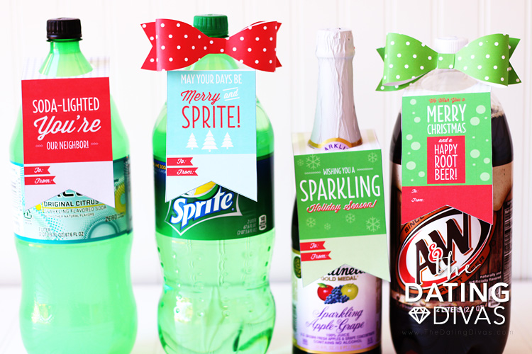 Soda Pop Labels for Neighbor Gifts