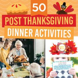 Post Thanksgiving Games