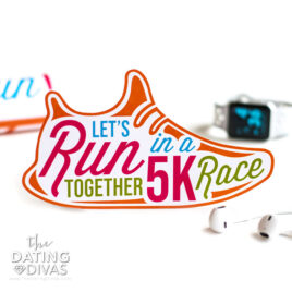 Go on a 5k run with your spouse.