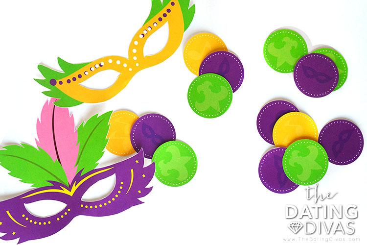 Mardi Gras party ideas.