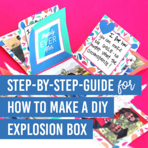 DIY Explosion Box Gift Idea