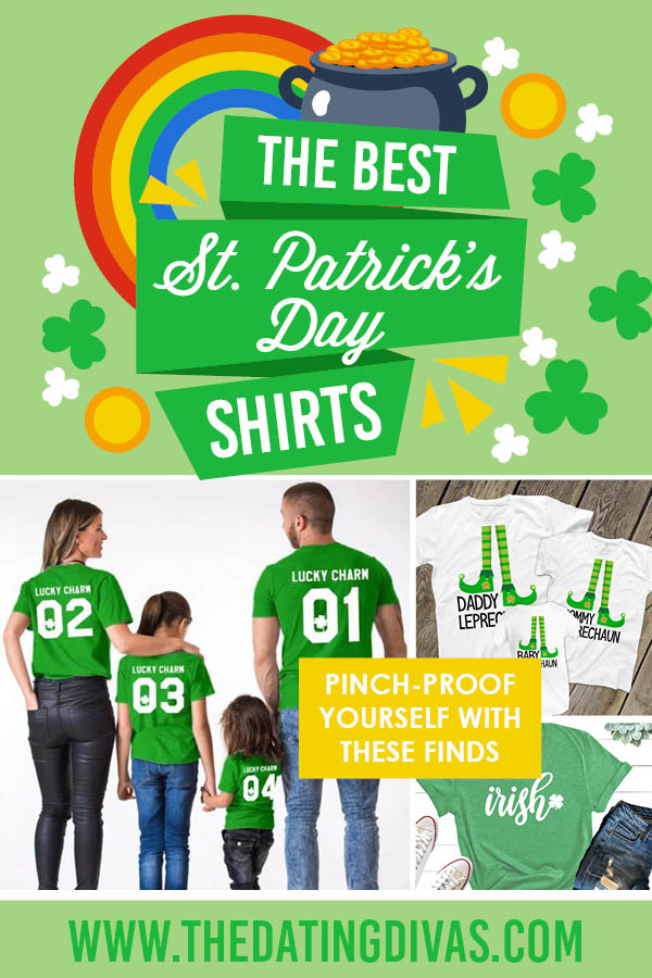 St. Patrick's Day shirts are my favorite seasonal clothing item! I'm excited for matching ones this year. #StPatricksDayShirts #StPattysDayShirts