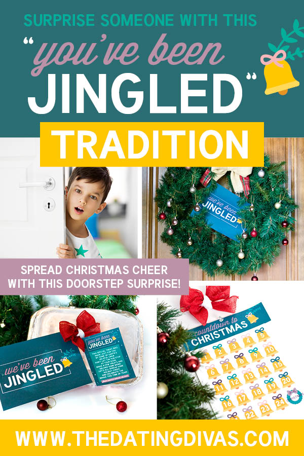 "We love to drop off treats to friends and say, ""You've Been Elfed!"" These free ""You've Been Jingled"" printables are perfect for getting us in the holiday spirit! #youvebeenelfed #youvebeenjingled"