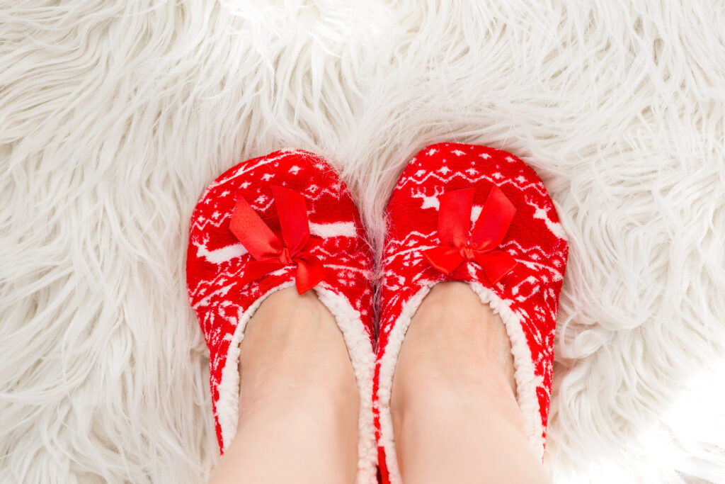 Christmas Slippers for Kids