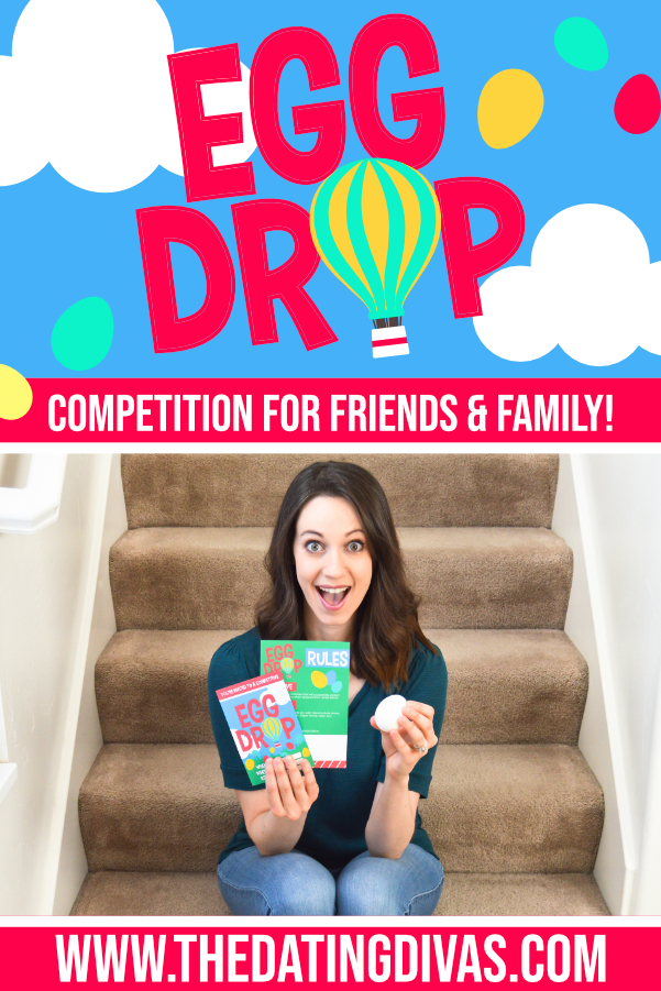 This egg drop project looks SO FUN! Can't wait to do it with my sweetie and our friends. #datingdivas #eggdropproject #eggdropexperiment