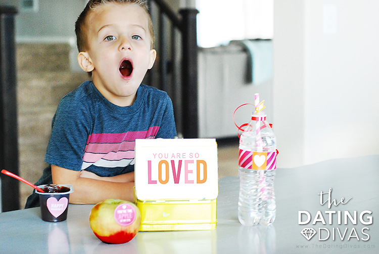 Fun Valentine's Lunch Idea for Kids for Valentine's Day
