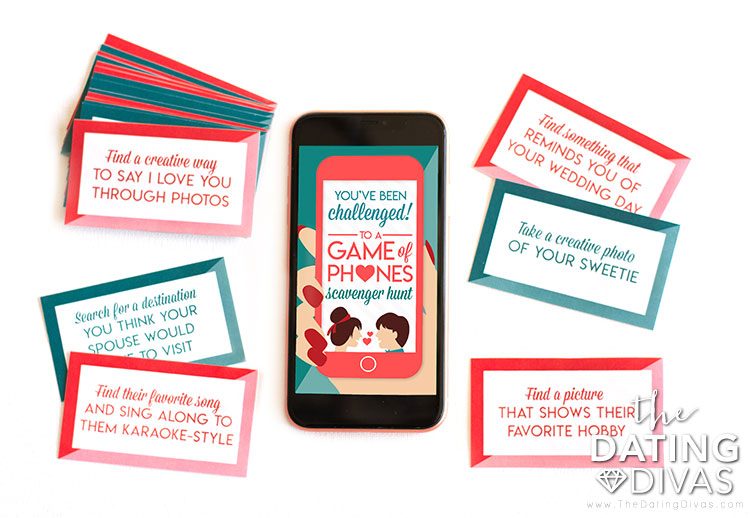 A fun phone card game to play with your spouse.