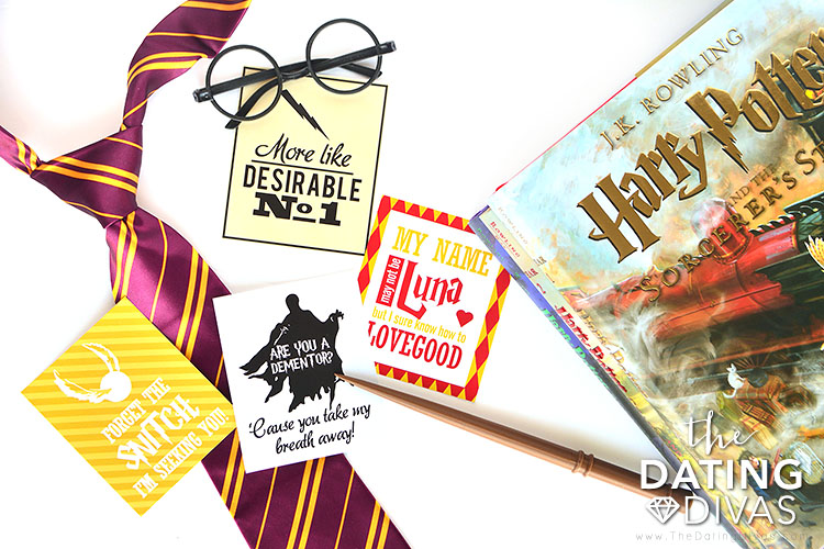 Harry Potter Valentine's Day cards