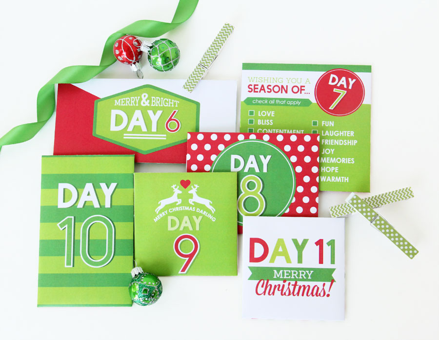 Christmas Countdown Calendar Construction