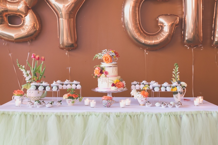 Modern-Chic Baby Shower Theme for Baby Girl  | The Dating Divas