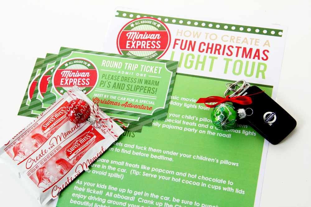Holiday Minivan Express Countdown Activity