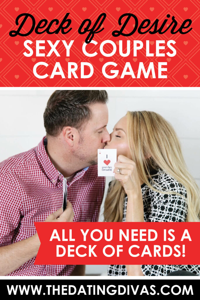 This is one of the best sex card games you'll ever find! With only a deck of cards, you'll have a night of fun, no question! #CardGames #DeckofDesire