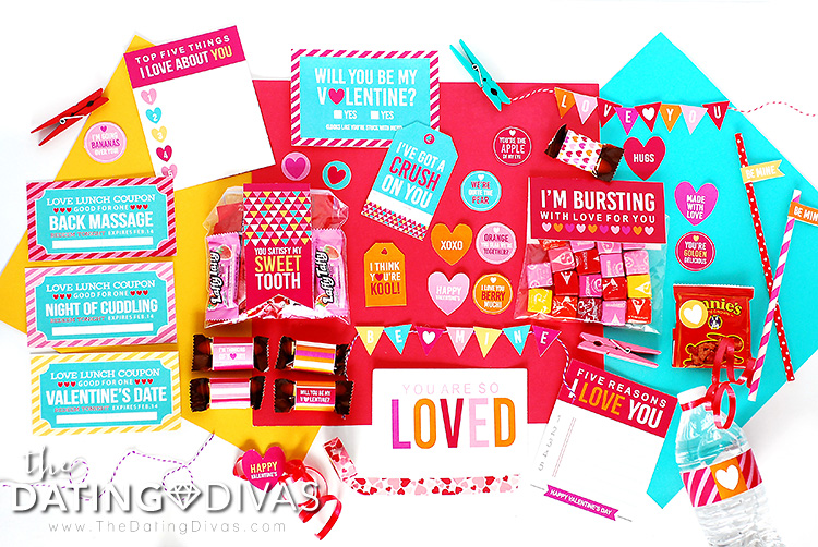 Valentine's Day Love Lunch Free Printable Download