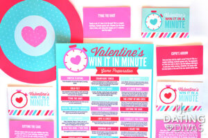 Valentine's Day ideas for Minute to Win It | The Dating Divas