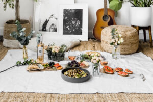 Indoor Picnic Affordable Valentine's Day Idea | The Dating Divas