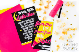 Turn out the lights for a creative Valentine's Day date idea | The Dating Divas