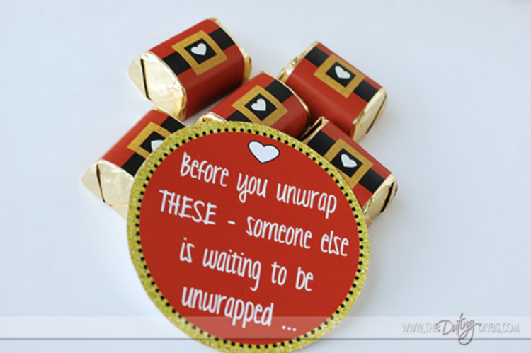 Santa Baby chocolates for a romantic gift idea | The Dating Divas