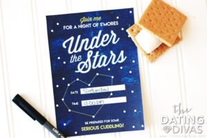 A night under the stars stargazing for Valentine's Day | The Dating Divas