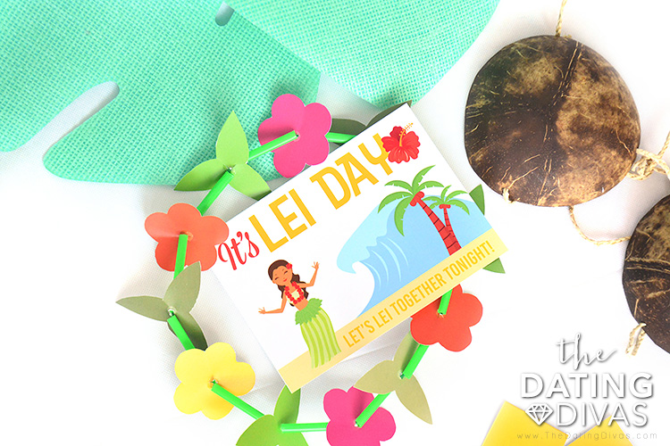 Craft a DIY lei for this Lei Day.