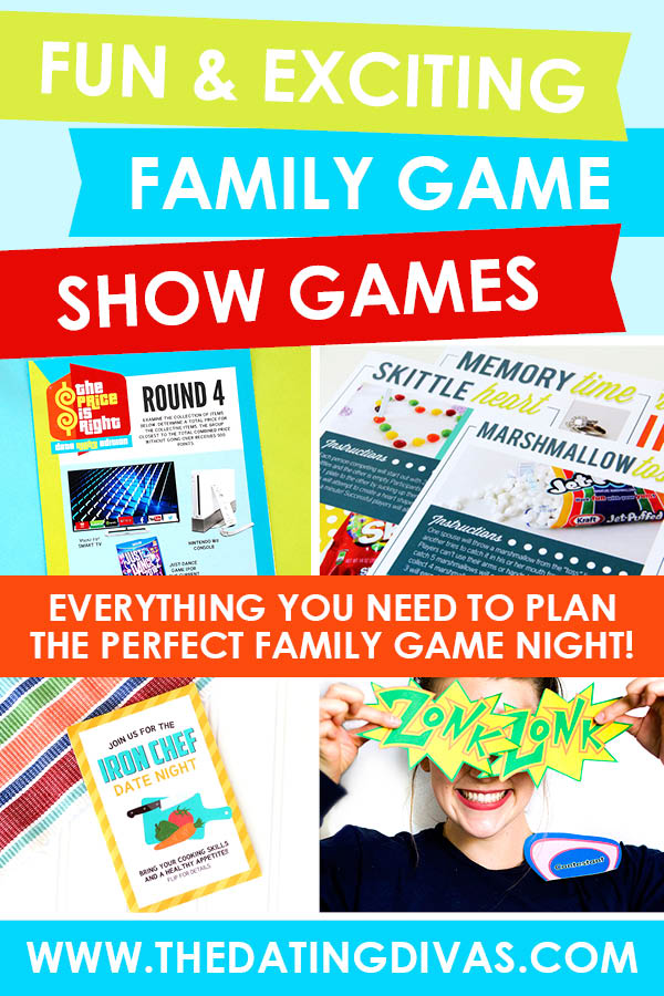 Super FUN family game night shows straight in your living room! #FamilyGameNightShow #PriceIsRightPlay