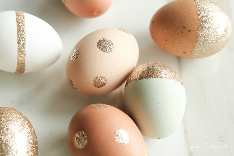 Stunning Metallic Easter Egg Ideas