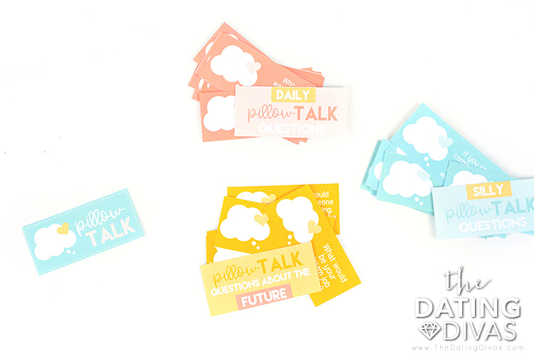 Reconnect with these pillow talk conversation starters.